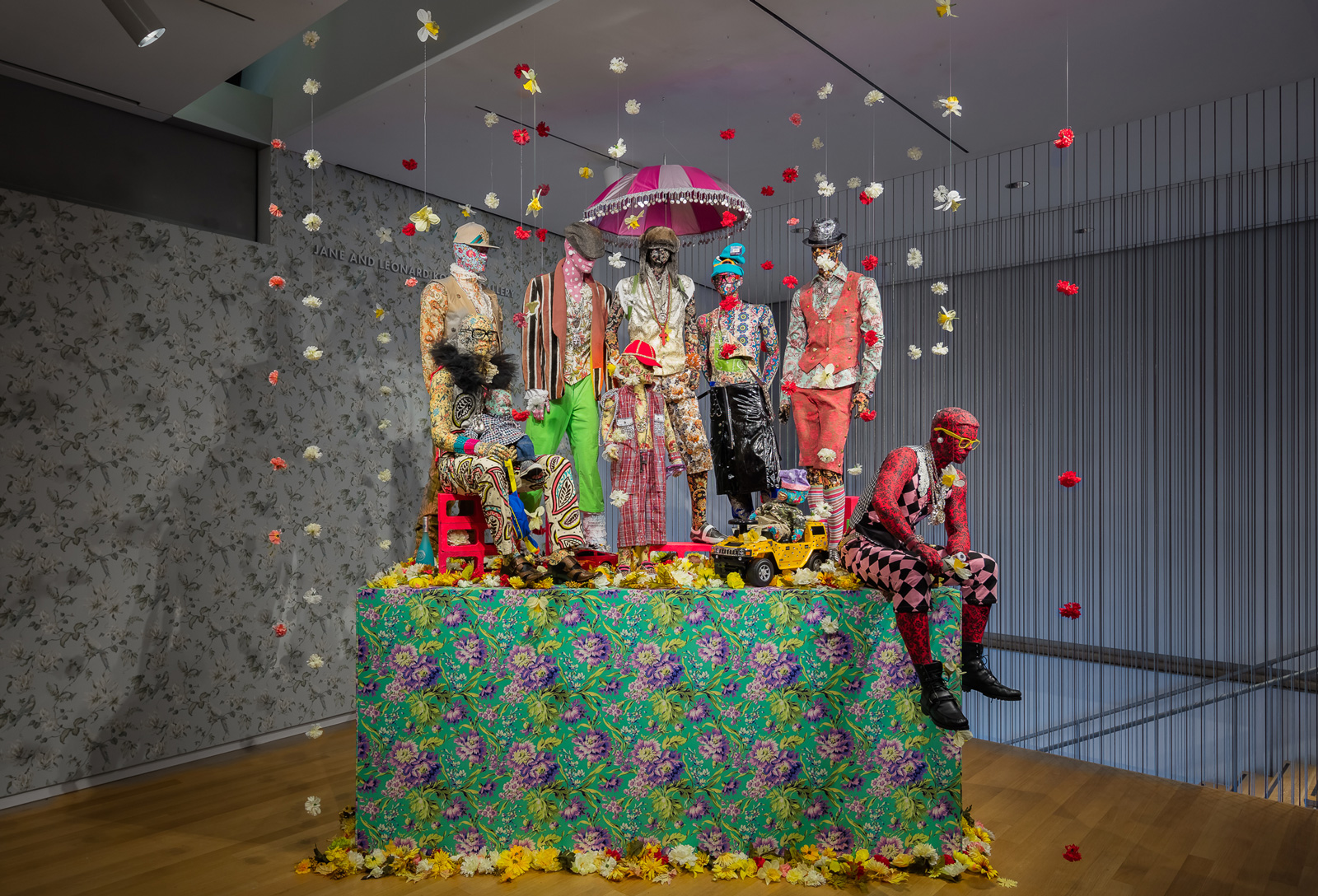 Museum Of Arts And Design : Ebony g patterson dead treez the museum of arts and