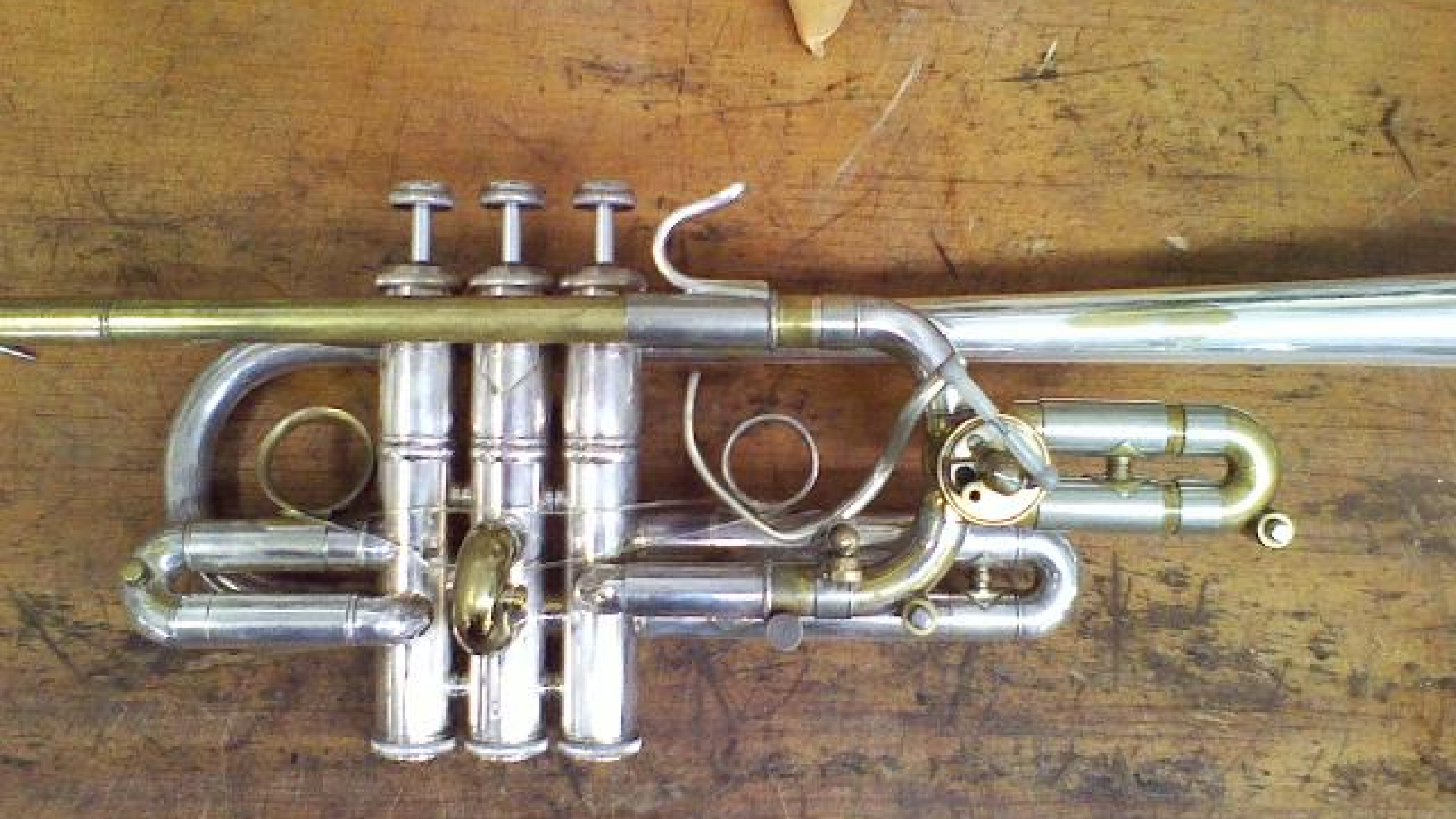 The Brasslab; Custom bends, hooks, and slides for a trumpet, 2013