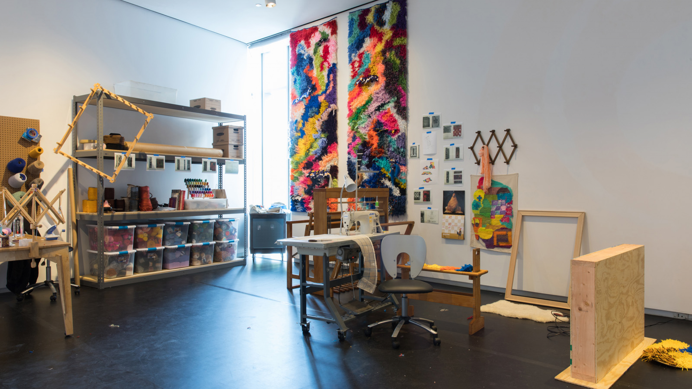 Installation view of <em>Studio Views: Craft in the Expanded Field</em>