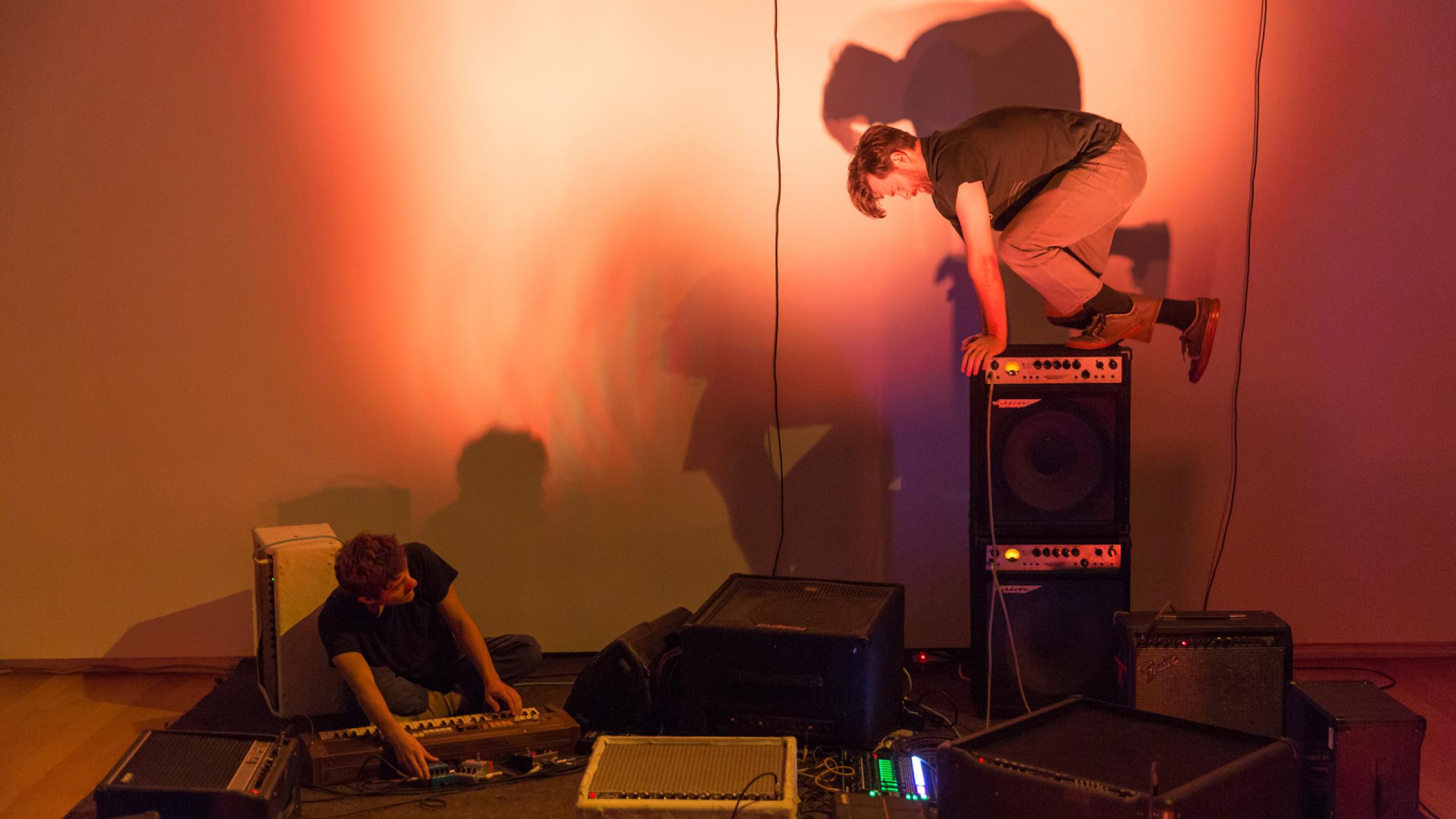 Steven Reker and Matt Evans