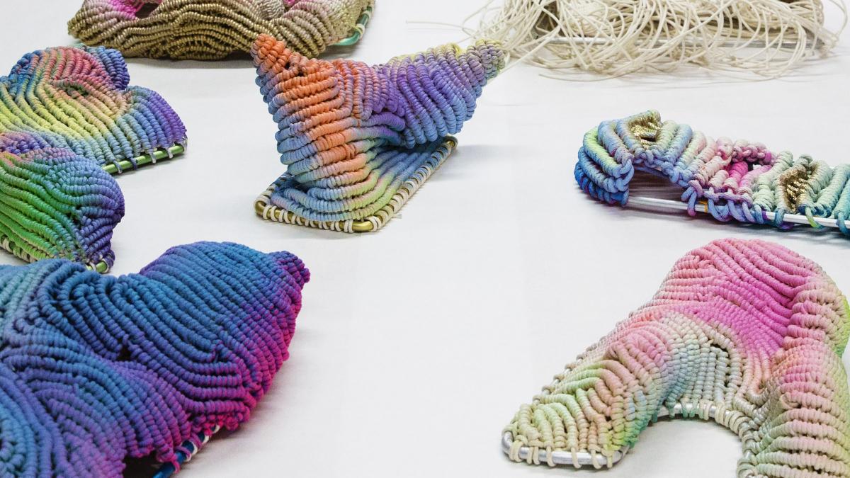 Weird Fish Gomez Twisted Yarn Hat
