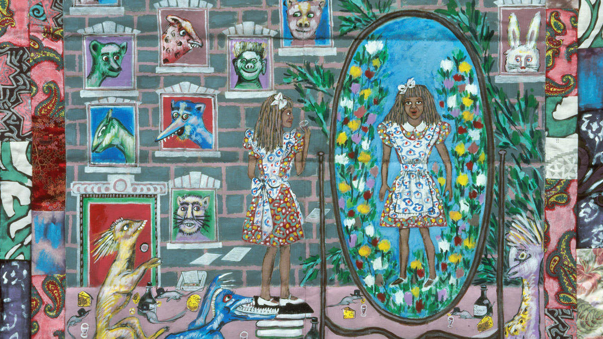 <i>Shades of Alice</i>, Faith Ringgold, 1988/93: Narrated by Stephanie Acquadro