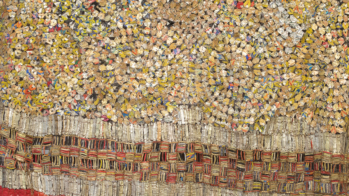 <i>Soleme</i>, El Anatsui, 2005: Narrated by Kathy Hatgis