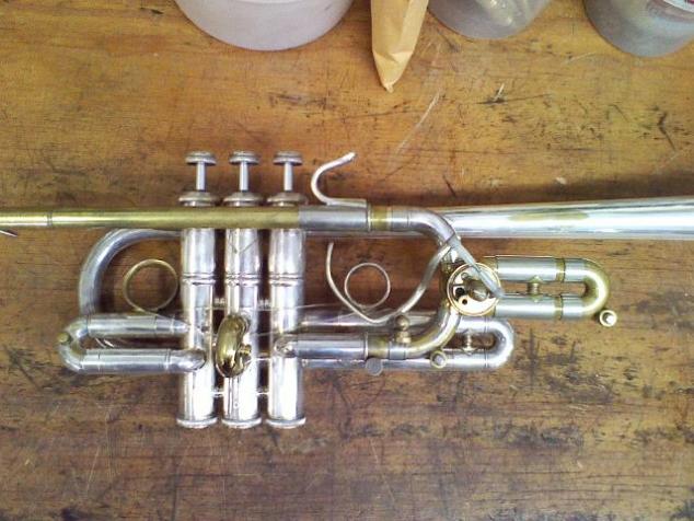 The Brasslab; Custom bends, hooks, and slides for a trumpet, 2013
