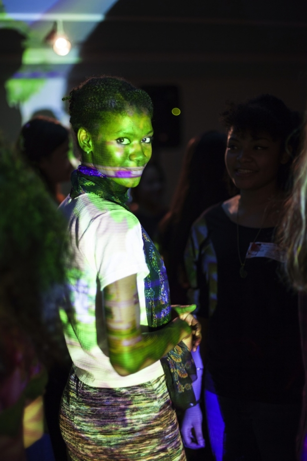 a participant at previous Teen Night event