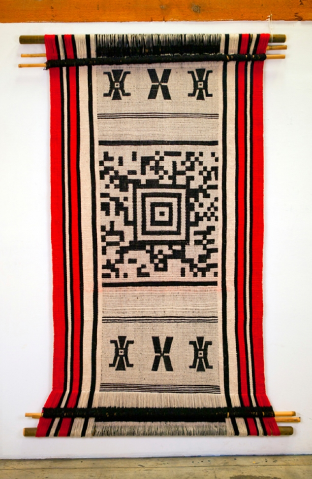 Guillermo Bert (woven by Anita Paillamil); Redemption, 2012