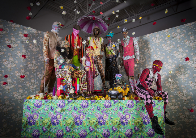 Swag Swag Krew (from the Out and Bad series) (installation view, John Michael Kohler Arts Center), 2011–14