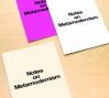 """Notes on Metamodernism"" as designed by Vance Wellenstein, image courtesy Vance Wellenstein"