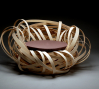 Nina Bruun: Nest, 2010, Birch, textile, foam cushion 29 5/8 x 39 3/8 x 39 3/8 in. (75 x 100 x 100 cm) Courtesy of the artist, Photo: Adam Dyrvig Tatt