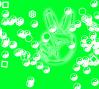 Sketch for Ψ∑‡ DVβ x3 : Slowmoji Glyph Banter, image courtesy of the artist