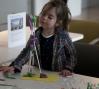 A Studio Sunday workshop participant