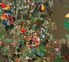 Chiachio & Giannone, La Ciudad Frondosa (2011-2012): Hand embroidery; cotton, rayon, wool. Museum purchase with funds provided by Nanette L. Laitman, 2014. Argentina.