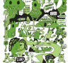 Central Park, 2012, Jeremyville, image courtesy of the artist