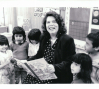 Wilma Mankiller reads to young students