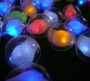 Detail from Nest, plastic, fabric, LED lights and embedded RFID tag system, 2008