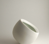 Off Circle Cup: Off Circle Cup, porcelain and glaze, 2009