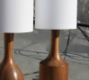 Walnut lamp: Walnut lamp