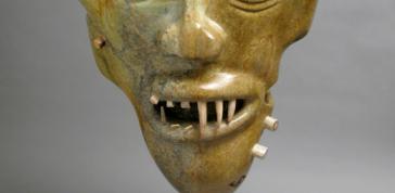Floyd Kuptana: Bear-Man Shaman Mask, 2011