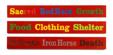 George Longfish: Buffalo Grass 1, 2, 3, 2012