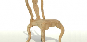 Julian Mayor: Clone Chair, 2005, photo courtesy of Topaz Leung