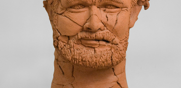 Robert Arneson: Bust, 1977, Ceramic, 28 x 16 x 14 in. (71.1 x 40.6 x 35.6 cm)
