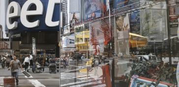 Richard Estes: Times Square, 2004