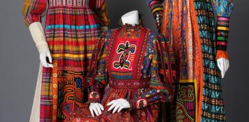 Yvonne Porcella: Patchwork Dresses, 1972