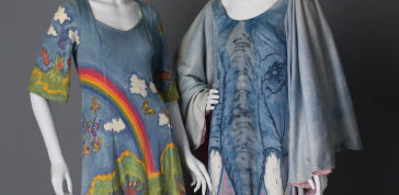 Fred and Candace Kling: Dresses, c. 1974