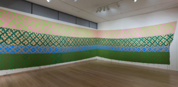Installation view of <em>Surface/Depth: The Decorative After Miriam Schapiro</em>
