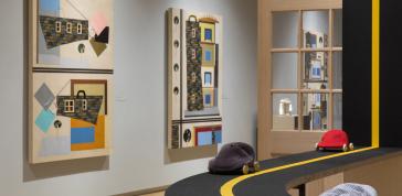 Installation view of <em>Derrick Adams: Sanctuary</em>