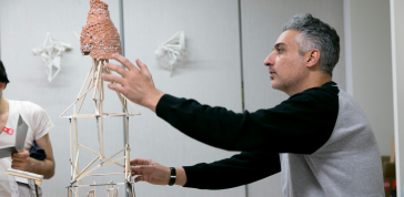 Amir Hariri: Sculpture<br>Cycle 28 Daily Resident<br>Photograph by Heidi Bohnenkamp