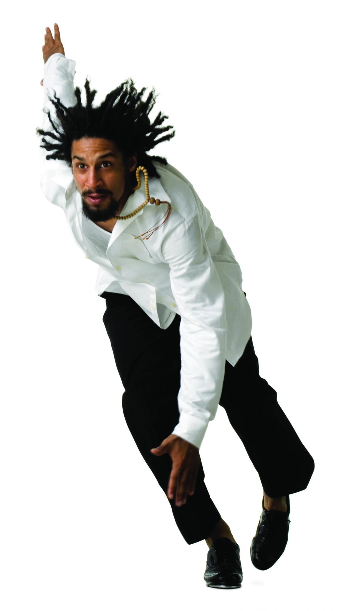 Jason Samuels Smith: image courtesy Eduardo Patino and BLOCH & DIvine Rhythm Productions