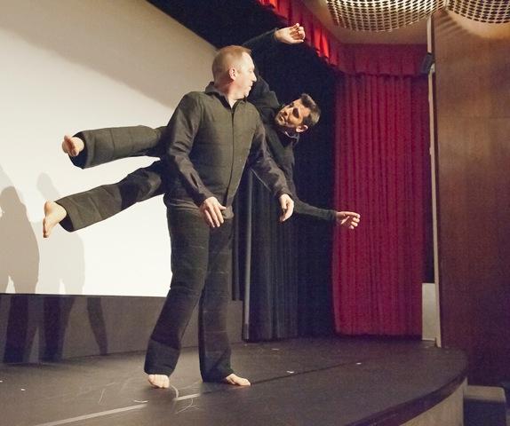 David Parker and Jeffrey Kazin: photo: Terry