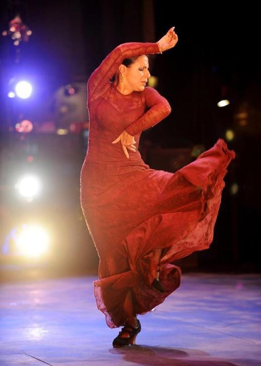 Nelida Tirado : Image courtesy New World Flamenco Festival, photography Jack Hartin