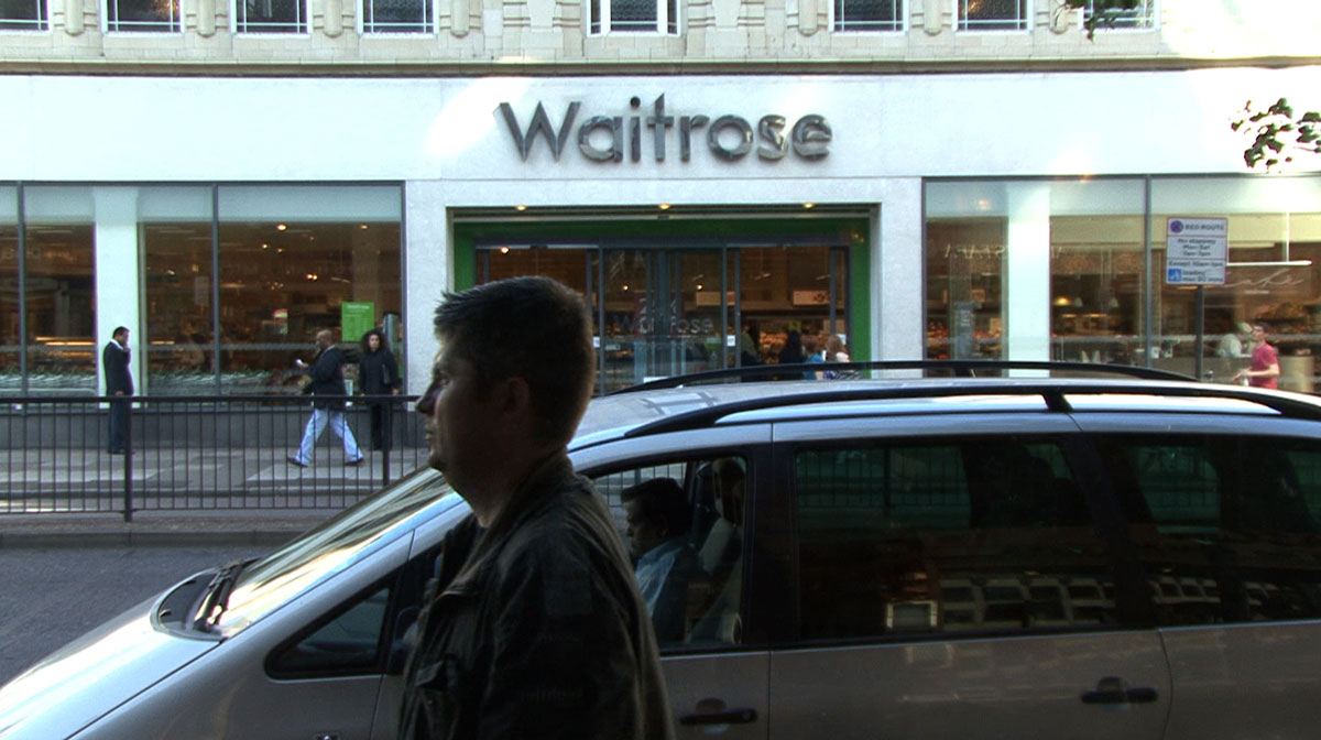 Edgware Road@Waitrose 2010/1431, Susan Hefuna, 2010, image copyright Susan Hefuna, 2012, courtesy The Thrid Line, Dubai, Commissioned by the Serpentine Gallery, London in partnership with the Townhouse Gallery, Cairo as part of The Edgware Road Project, 2010
