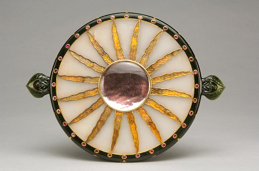 Hand mirror, Northern India 19th century
