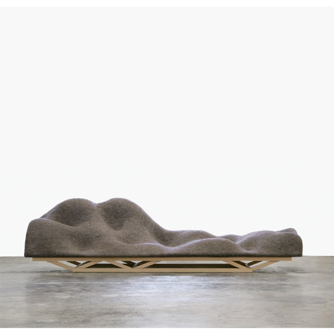 Lucas Maassen and Dries Verbruggen: Brain Wave Sofa, 2010