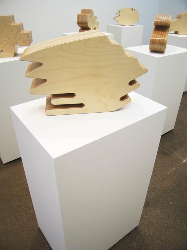 Allan McCollum: Shape, 2006