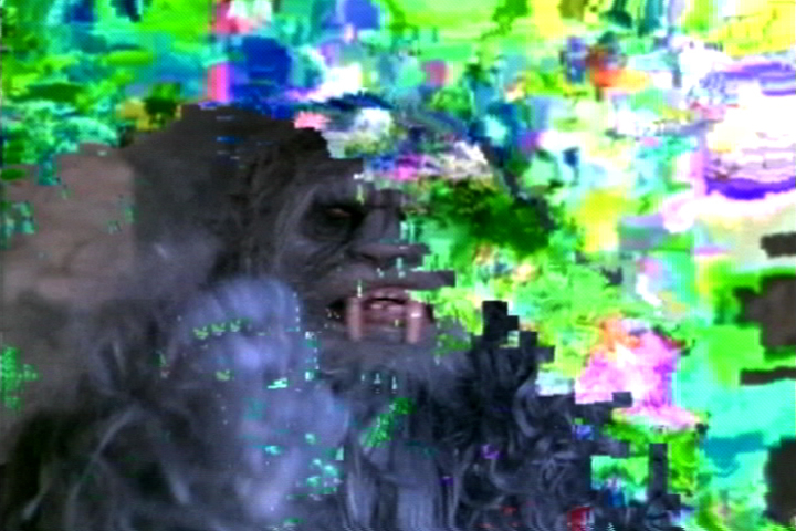 Takeshi Murata, Still from Monster Movie, 2005, 3:55 min, color, sound