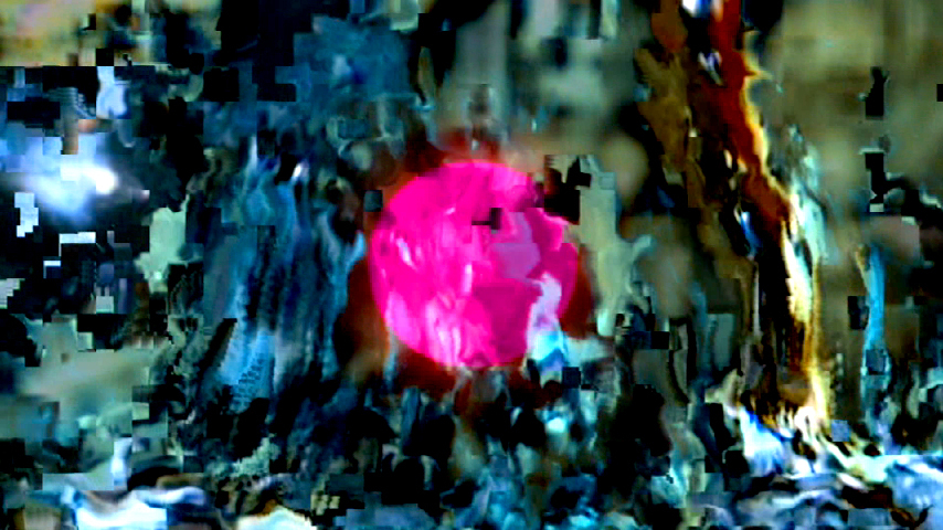 Takeshi Murata, Still from Untitled (Pink Dot), 2007, 5 min, color, sound
