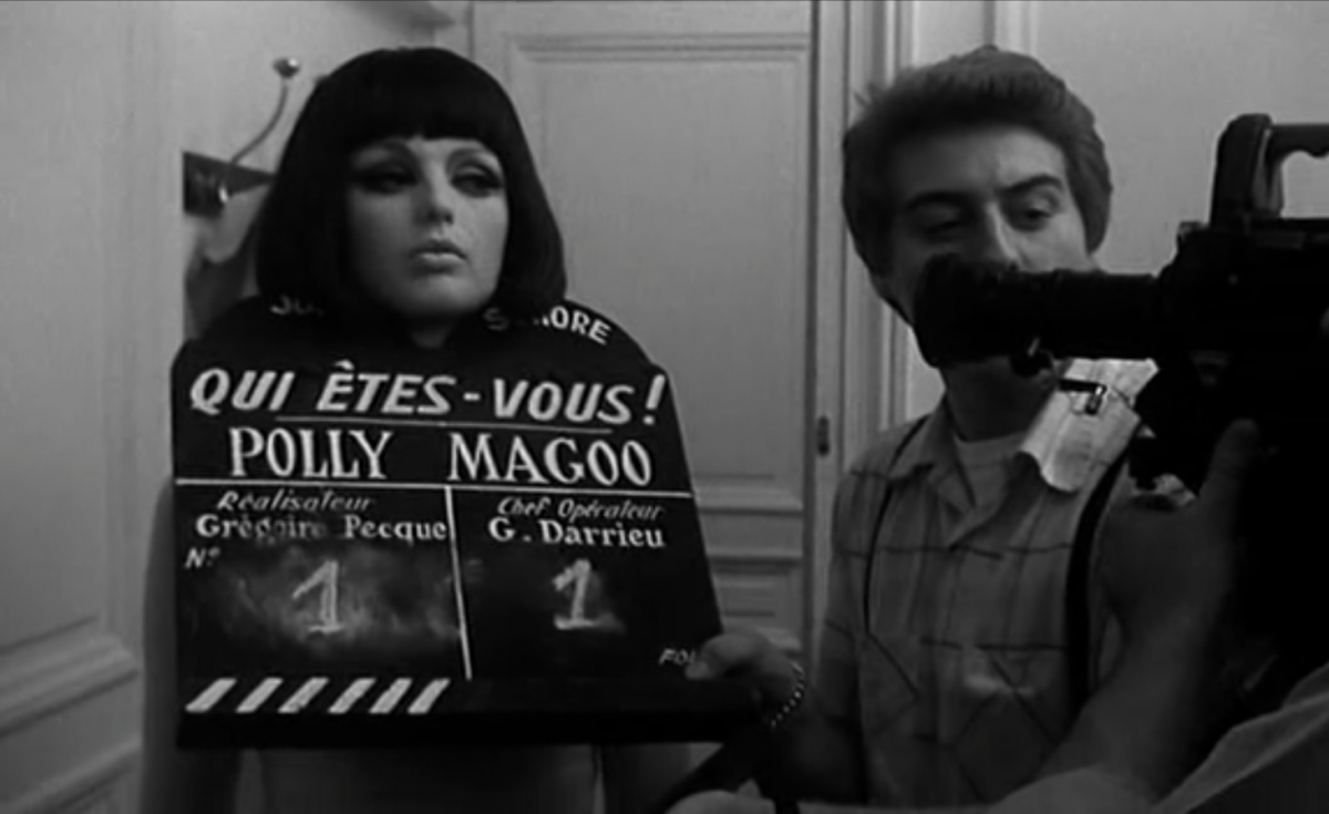 Still from Qui êtes-vous, Polly Maggoo? (Who Are You, Polly Maggoo?), 1966, Dir. William Klein