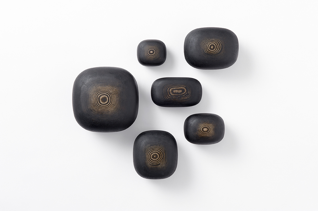 Nendo: Lacquered Paper-Objects, 2012, 3D-printed paper, urushi lacquer, Courtesy of Nilufar Gallery Unlimited. Museum purchase with funds provided by Barbara Karp Shuster, 2013. PHOTO CREDIT: Masayuki Hayashi