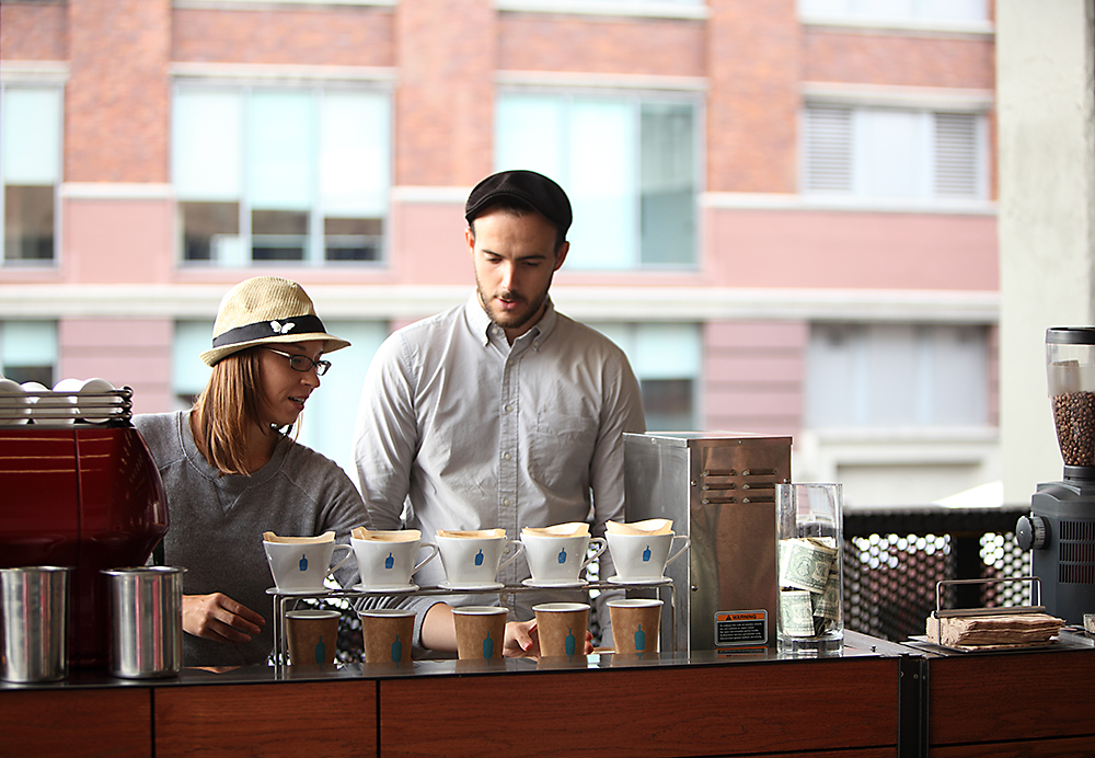 Blue Bottle Coffee, The High Line, NYC: Photo: Clay McLachlan