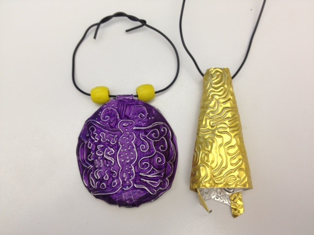 wearable artworks made by kids!: wearable artworks made by kids!