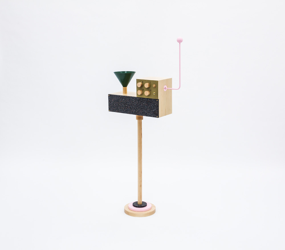 François Chambard,  UM Projects: Pink Perch, (from the Odd Harmonics series created for the launch of Butterscotch Records), 2013, Photo: Francis Dzikwoski/Esto