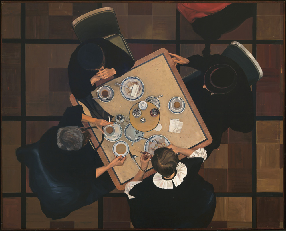 Automat (1966-1968): Oil on board 48 x 60 in. Private collection Photo by Luc Demers