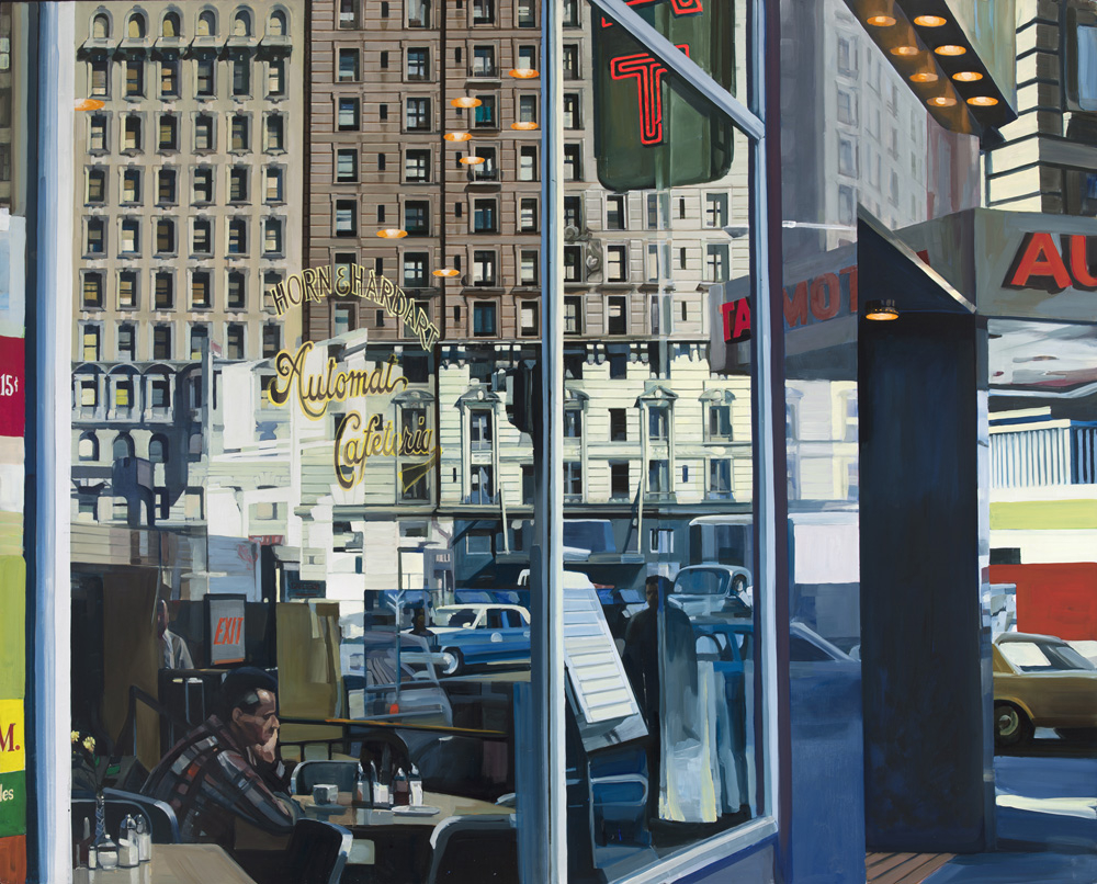 Horn and Hardart Automat (1967): Oil on Masonite 48 x 60 in. Private collection Photo by Luc Demers