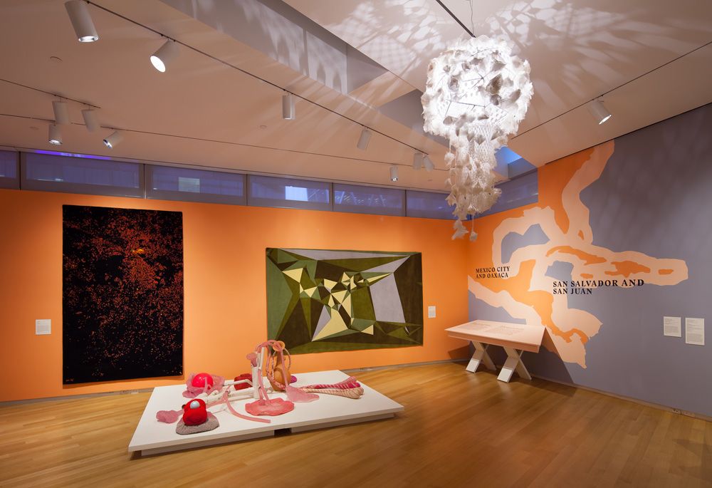New Territories: Laboratories for Design, Craft and Art in Latin America : Installation photo of
