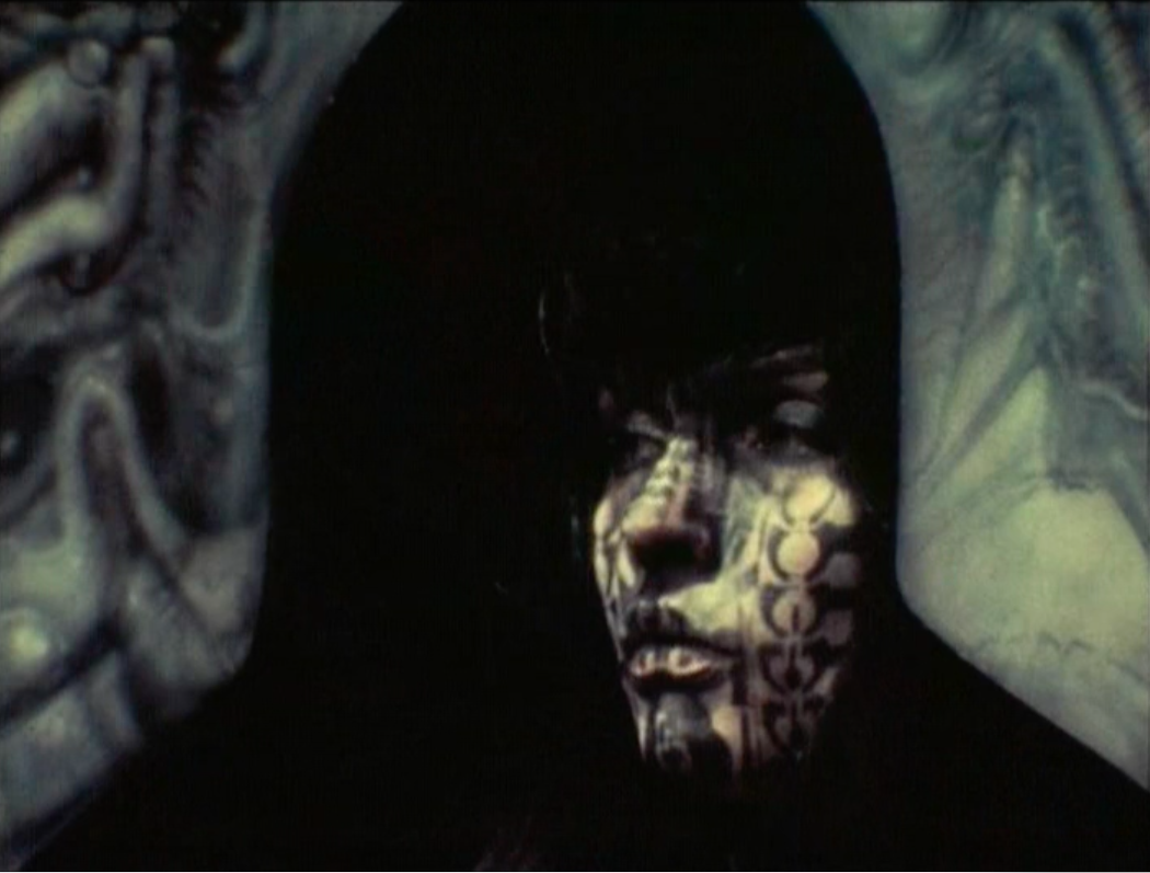 A New Face of Debbie Harry, 1982, Dir FM Murer, courtesy of HR Giger Museum and the HR Giger Documentary Film Festival