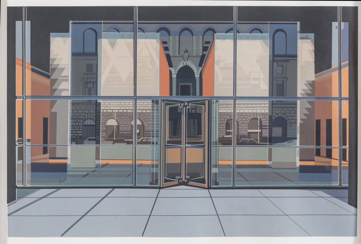 Richard Estes: Urban Landscapes I: Seagram Building, 1972